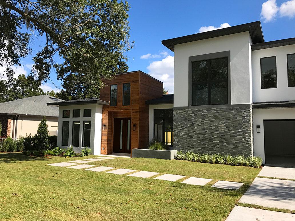 Guida design group llc orlando winter park lake nona for New modern homes orlando